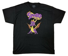 Spyro The Dragon Logo Adult T-Shirt(China)
