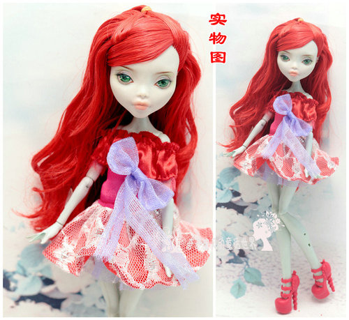 Monstering High Doll Clothes Handmade Outfit Soft Personality Doll Dress Jacket Skirt Doll Clothing Set Quality Doll Clothes 3