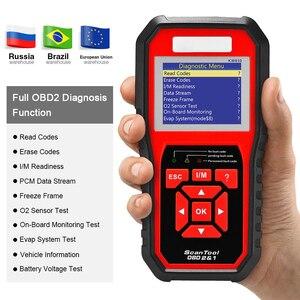 Image 2 - Melhor scanner odb2 completo do varredor de obd2 kw850 do obd 2 suporta multi idiomas controles remotos diagnóstico automático