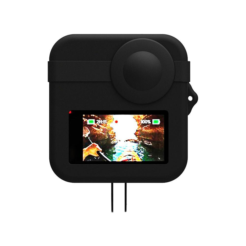 360 Degree Camera Silicone Case Len Caps Cover Body Protective Case For GoPro Max Action Camera Accessories