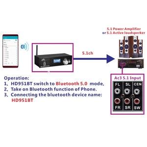 Image 5 - 4k * 2k hdmi para hdmi extrator conversor bluetooth dac digital spdif hdmi dts 5.1 áudio decodificador hdmi arco conversor de áudio engrenagem