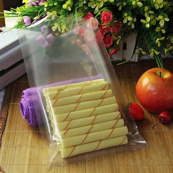 Full Clear Heat Sealing Bag Keep Food Fresh Saran Wrap Vacuum Bags PET/PE Transparent Light Bag image