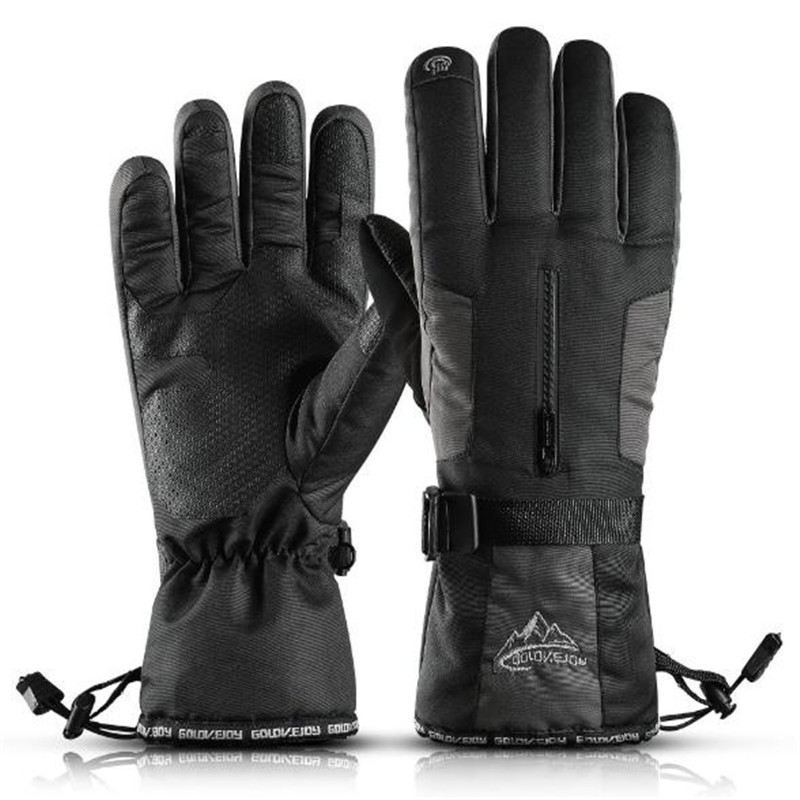 Sports Skiing Gloves GOLOVEJOY SK02 Unisex Full Finger Thermal Fleece Waterproof Cycling Hiking Touchscreen Golves