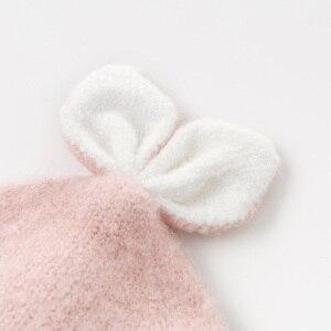 Image 4 - DB11792 dave bella jesienno zimowa dziewczynka żakardowa bawełna wełniana czapka