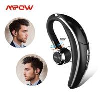 Mpow BH028 Drahtlose Einzel Auto Kopfhörer Tragbare Freisprecheinrichtung Bluetooth 4,1 180 Rotation Ohrhörer Kopfhörer mit Mic Für Handy