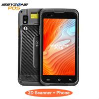 IssyzonePOS Rugged Android 7.1 PDA Handheld POS Terminal Zebra 4710 barcode Scanner 2D NFC 4G WiFi Barcode Reader data collector
