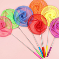 1PC Colorful Kids Anti Slip Grip Perfect Telescopic Butterfly Net for Catching Bugs Insect Fishing Toys