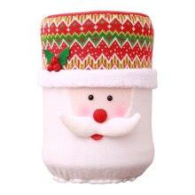 Рождество Пылезащитная крышка воды емкостный диспенсер контейнер очиститель бутылки Рождественский Декор модный фестиваль праздник поздравления семьи