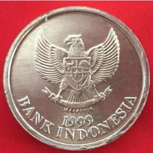 20 мм, индонезийский, настоящая comemoratory монета, оригинальная коллекция
