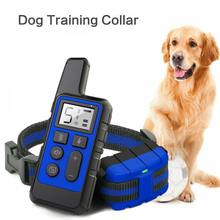 Dog-Training-Collar Remote Electric Vibration Waterproof Rechargeable