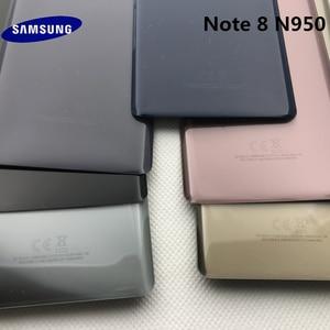 Image 2 - الأصلي سامسونج البطارية عودة غطاء note8 لسامسونج غالاكسي ملاحظة 8 N950 SM N950F N950FD الزجاج الخلفي حالة