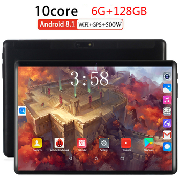 2020 Android 8.0 2.5D Screen Tablet pcs 10.1 inch 128GB tablet PC 8 Octa Core RAM 6GB ROM 128GB tablets kids tablet FM GPS