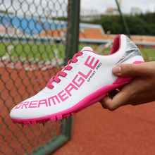 Spikes men and women sprint track and field shoes professional competition nail sports shoes student test running shoes