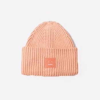2020 New Acne unisex women's autumn and winter hats Angora100% double layer warm hat Skulies wool hat Warm knitted hat 11