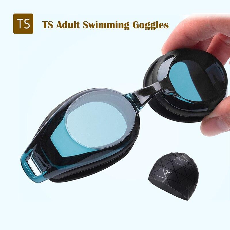 Очки для плавания TS для взрослых, незапотевающие Сменные с силиконовой прокладкой, 3 шт.