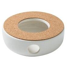 Teapot-Holder Ceramic Base Water-Warmer Mini Tea-Accessories Insulation-Base Coffee Portable