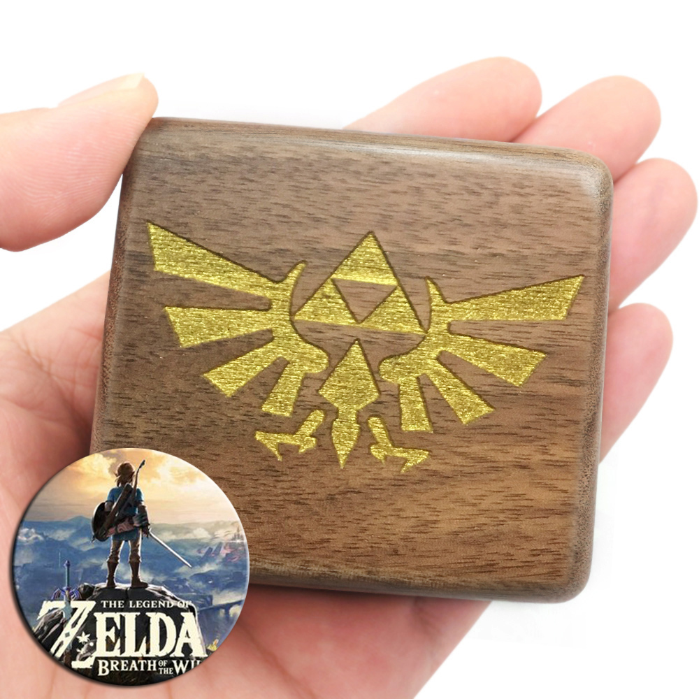 Handmade Wooden TheLegendofZelda Music Box Birthday Gift For Christmas Valentine's day special gifts for lovers, childrens 1
