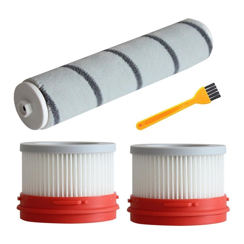 Filter Roller Brush Kit For Xiaomi Dreame V9/V9P/V10 Vacuum Cleaner Parts Cleaning Brush Household Accessories