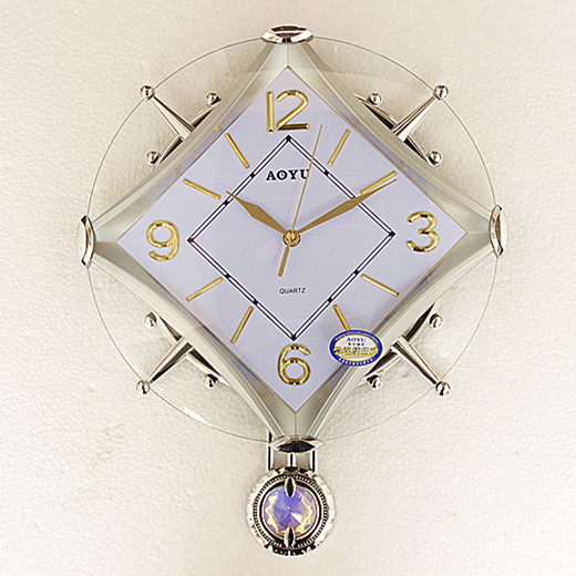 Grand pendule horloge murale montre Design moderne Europe classique pastorale salon créatif or Reloj De Pared décor à la maison E6