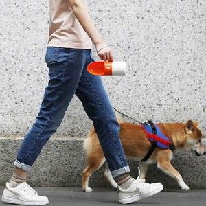 Image 4 - يوبين 230 مللي زجاجة مياه محمولة للكلاب موضة الكلب حيوان أليف زجاجة مياه للسفر موزع كوب مياه محمول للحيوانات الأليفة