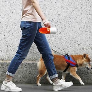Image 4 - Youpin 230ML Portable Dog Water Bottle Fashion Pet Dog Travel Water Bottle Dispenser Pet Portable Water Cup