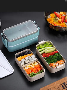 Heated-Food-Container Compartments Lunchbox Food-Bento-Box Thermal-Snack Electric-Heated