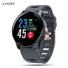 LYKRY S08 Smart Watch Men Sport Pedometer IP68 Waterproof Fitness Tracker Heart Rate Monitor Women Clock Smartwatch