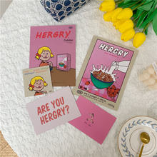 Милая розовая открытка для девочек креативная декоративная настенная