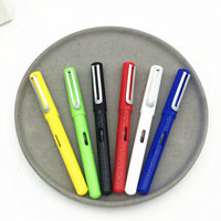 M&G Stationery Cute Students Fountain Pen Boxed Office Writing Candy Solid Color Colorful Ink Absorption W6502|Plastic & Portable Basins| |  -