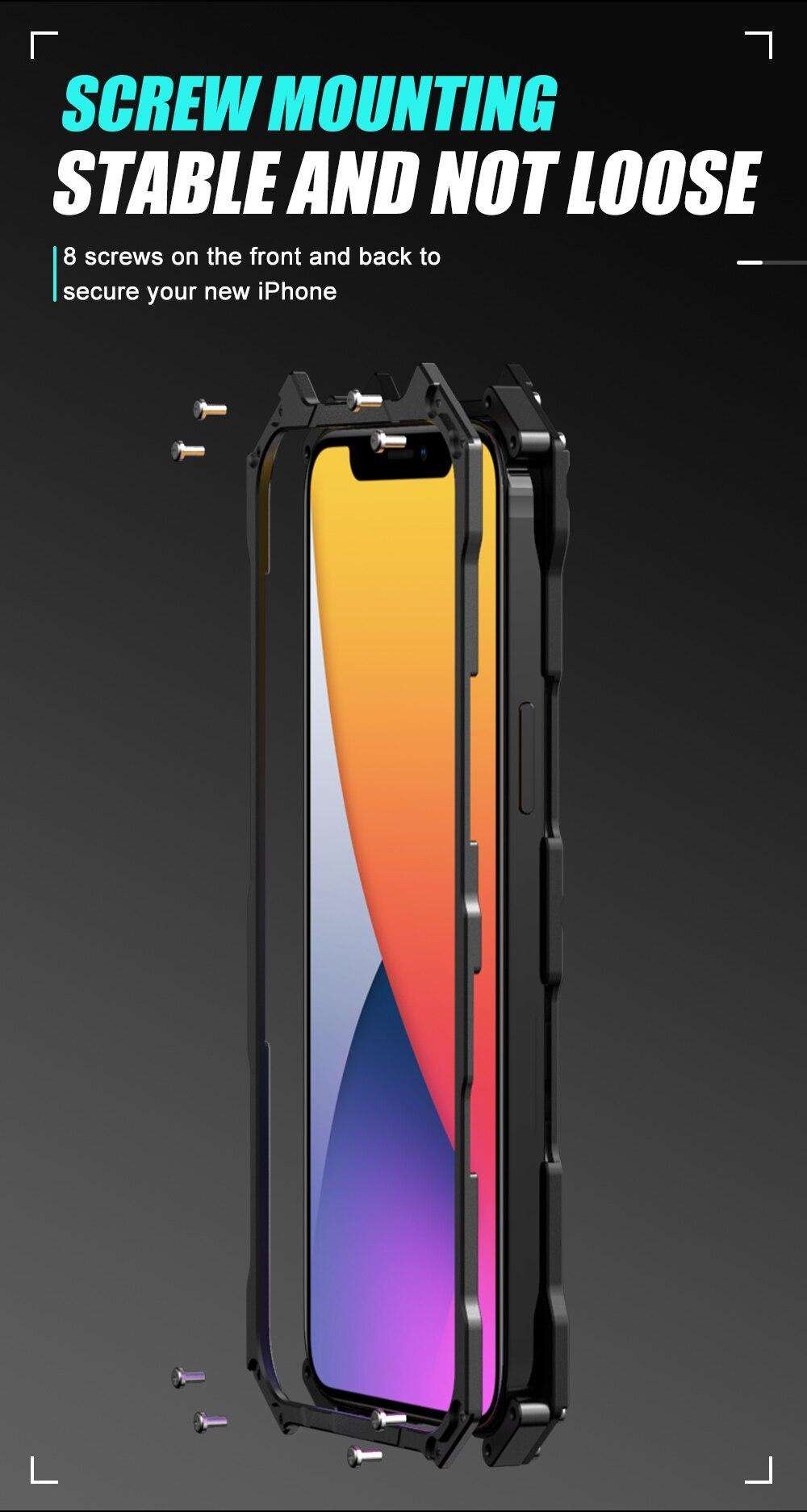 iPhone 12 Batman Aluminum phone case (5)