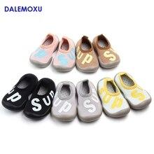 DALEMOXU Baby Letter Pattern Floor Socks Shoes Summer Casual Sport Sneakers Non-slip Toddler Running For Kids