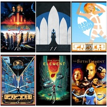 The Fifth Element Movie Home Decorative Painting White Kraft Paper Poster 42X30cm talk to her movie home decorative painting white kraft paper poster 42x30cm