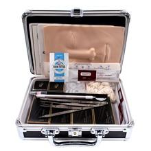 Permanent Makeup Kit Microblading Neddle Eyebrow Pencil Manual Pen Practice Skin Ruler Inkcups Microblading Pigment Tattoo Kit