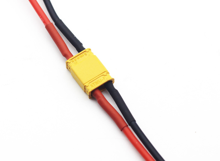 Amass Xt30u Plug With Wire 18awg High-temperature Resistant Silicone Wire Unmanned Aerial Vehicle Battery Connector Line