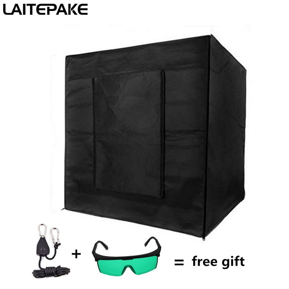 Premium 200 x 200 x 200 cm 600d mylar intérieur tente Croissance boîte la culture hydroponique chambre noire