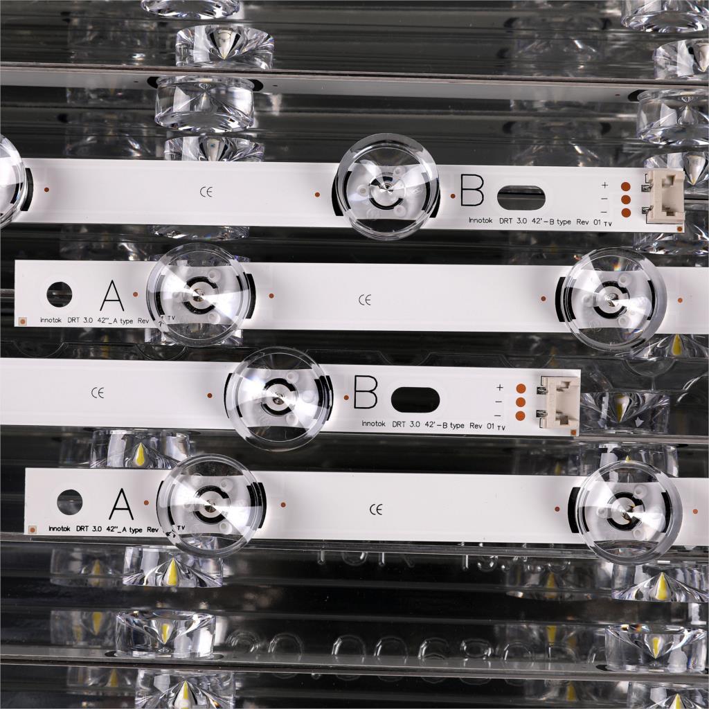 Image 3 - 825mm LED Backlight Lamp strip 8 leds For LG INNOTEK DRT 3.0  42_A/B TYPE 42LB5610 42LB5510 42LY320C 42GB6310 TV LCDIndustrial  Computer