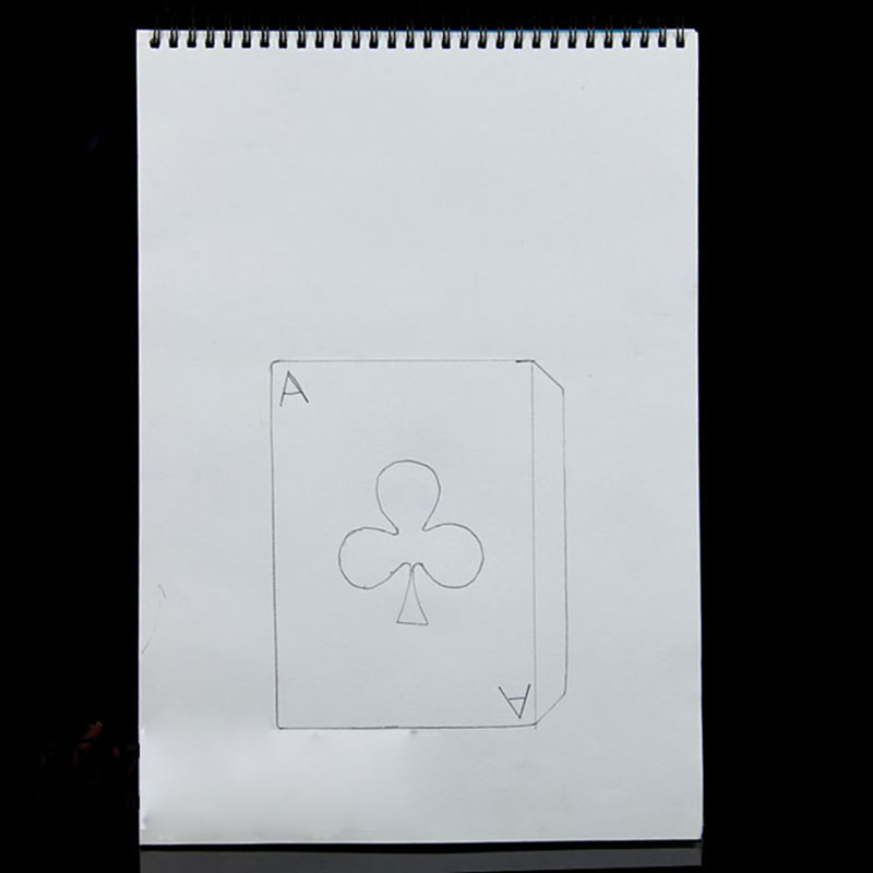 Cardiographic Exclusive Rise Card Prediction( 390*260MM ) Magic Tricks Magician Stage Illusions Gimmick Props Mentalism Magia