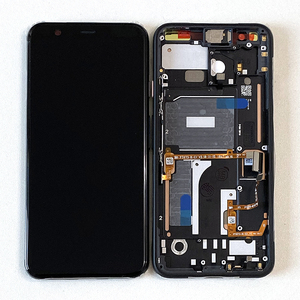 """Image 1 - 5.7"""" Original Supor Amoled  M&Sen For Google Pixel 4 LCD Screen Display+Touch Panel Digitizer Screen With Frame"""