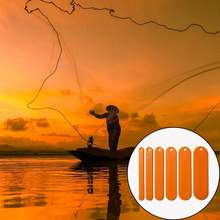 6 шт/партия рыболовные сети shuttle Размеры снасти Пластик рыболовный