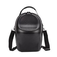 PU deri omuz çantası seyahat taşıma çantası DJI gözlük FPV VR gözlük kiti Dropship