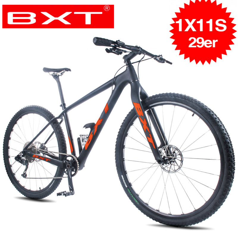 New Ultralight Mountain Bicycle 29inch Carbon MTB Cycling 11-speed Bicycles Disc Brakes MTB Bikes Racing Bicycle Complete Bike