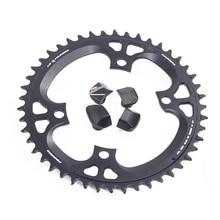 Велосипедная цепь Fouriers BCD 110, 42T, 46t, узкая, широкая, подходит для Ultegra R8000, 11 скоростей, 11 s, 12s