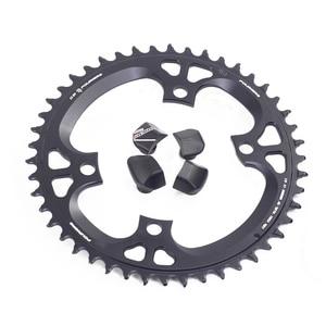 Image 1 - Fouriers Bike Enkele Kettingblad Bcd 110 42T 46 T Smalle Brede Tanden Fit Ultegra R8000 11 Speed 11 S 12 S Racefiets Kettingwiel