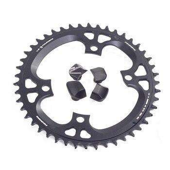 Fouriers Bike Single Chainring BCD 110 42T 46t Narrow Wide Teeth Fit Ultegra R8000 11 speed 11s 12s Road Bike Chainwheel кассета shimano ultegra cs r8000 11 скоростей звезды 11 32 icsr800011132