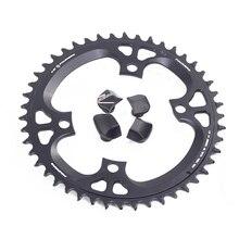 Fouriers Bike Singola Corona BCD 110 42T 46t Stretto Largo Denti Fit Ultegra R8000 11 velocità 11 s 12s Bici Da Strada ruota di Catena