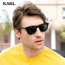Fashion Retro Polarized Sunglasses Men Women KARL Brand Designer Driver Driving Square Frame Sun Glasses Gafas De Sol UV400