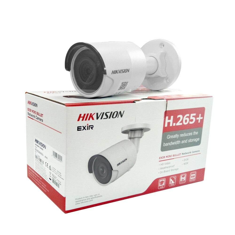 Hikvision kamera IP 4MP 6MM DS-2CD2043G0-I 4MP Bullet kamera sieciowa system cctv aktualizacji DS-2CD2042WD-I
