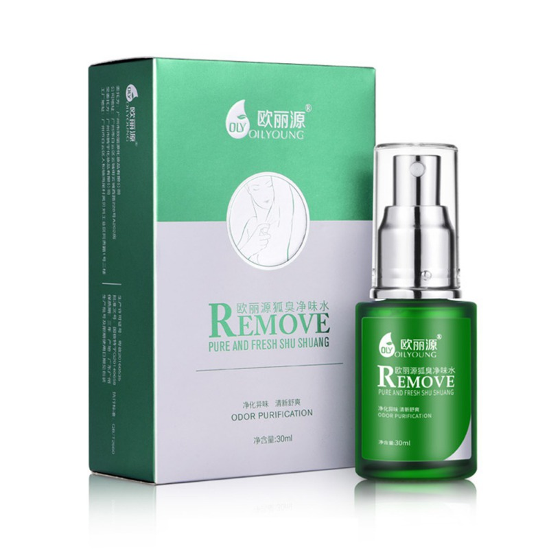 NEW Summer Dress Deodorants Spray Remove Body Odor Reduce Sweat Secretion Antiperspirant Liquid For Underarm Men Or Women