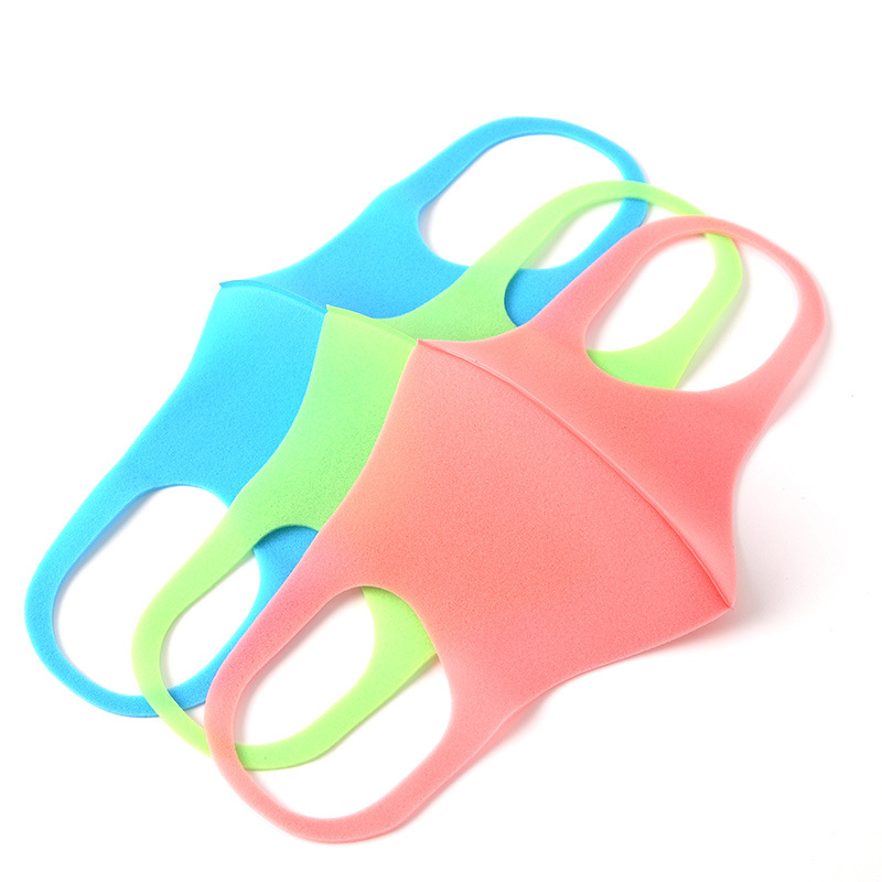 5 Pcs Anti Haze Mask For Outdoor Riding And Dust-proof Foam Mask For Children And Adults Color Randomised