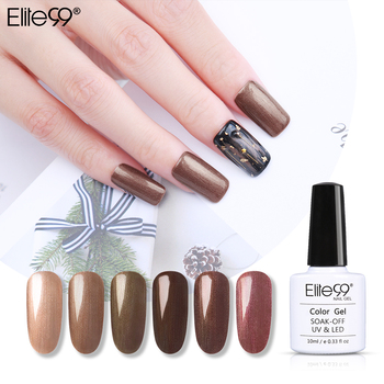 Elite99 10ML Bronze Gel Polish Matte Top Mantel Design Gel Lack Tränken Weg UV Nagel Gel Polnisch Tipps Primer lack Gel Lak